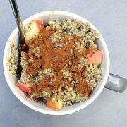 quinoaontbijtje met appel