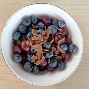 genoeg fruitjes gegeten